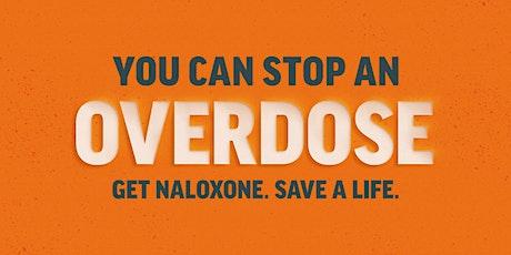Overdose Response and Naloxone Training tickets