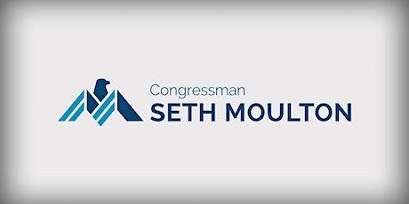 Congressman Seth Moulton - Service Academy Night tickets