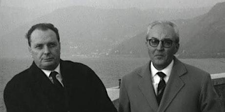 Piero Chiara e Vittorio Sereni biglietti
