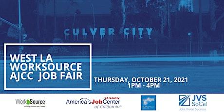 West Los Angeles Job Fair tickets