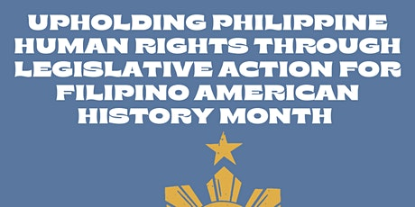 Upholding Philippine Human Rights through Legislative Action for FAHM tickets