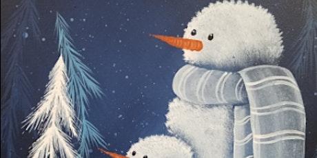 Snowman Painting Workshop tickets