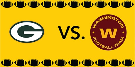 Packers vs. Washington Tailgate Party tickets