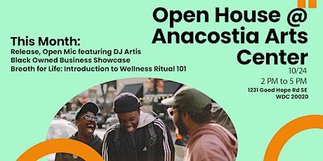 Open House @ Anacostia Arts Center tickets