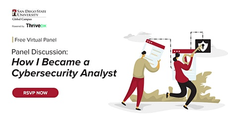 Panel Discussion: How I Became a Cybersecurity Analyst tickets