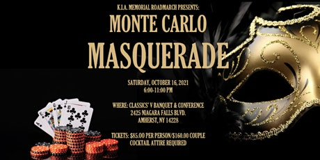 Monte Carlo Masquerade tickets