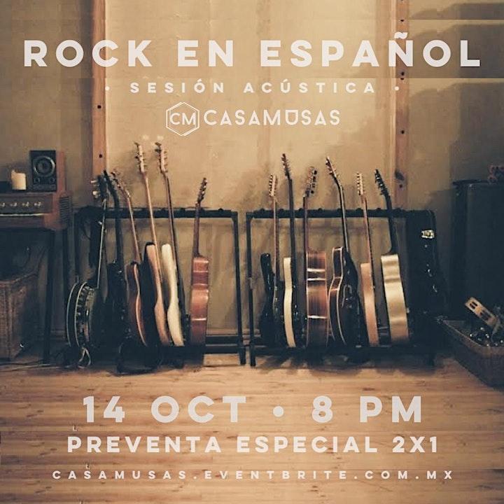 Imagen de ROCK EN ESPAÑOL · SESIÓN ACÚSTICA