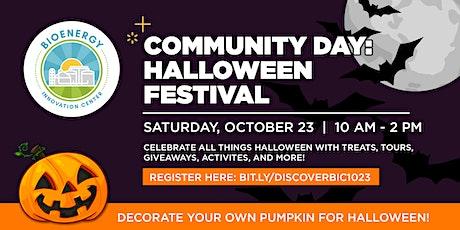 Community Day: Halloween Festival tickets