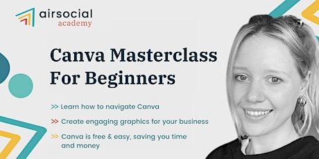 Canva Masterclass For Beginners tickets