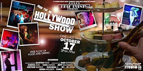 High tea on Hollywood Road SHOW (one more show, one last time) OCTOBER 17 tickets