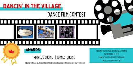 Dancin in the Village   Dance Film Contest tickets