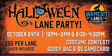 Halloween Family Lanes Parties 2021 tickets