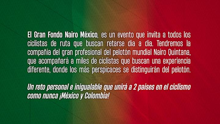 Imagen de Gran Fondo Nairo México, 2022