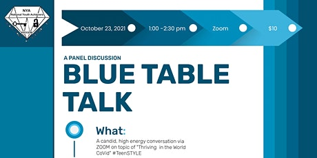 "NYA Sugar Land Chapter - Presents ""Blue Table Talk"" tickets"