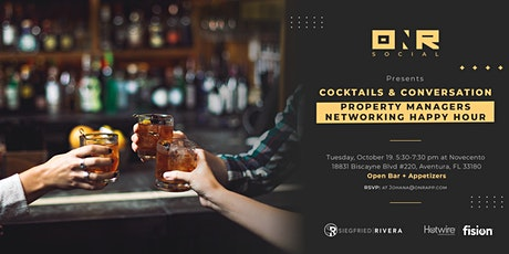 Cocktails & Conversations - Property Managers Networking Happy Hour tickets
