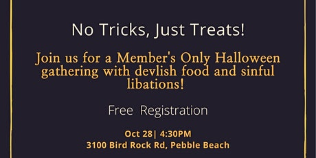 Members Only Halloween Get Together! tickets