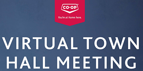 Saskatoon Co-op Virtual Town Hall Meeting tickets