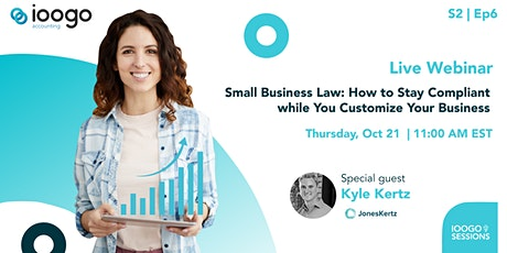 IOOGO Sessions  S2E6| Small Business Law tickets