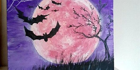 Art for adults: Halloween Painting Night tickets