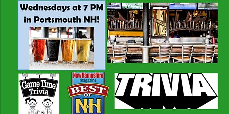Game Time Trivia Wednesdays at the Thirsty Moose Portsmouth tickets
