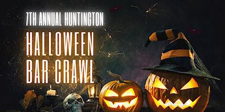 7th Annual Huntington Halloween Bar Crawl 10/30/2021 tickets