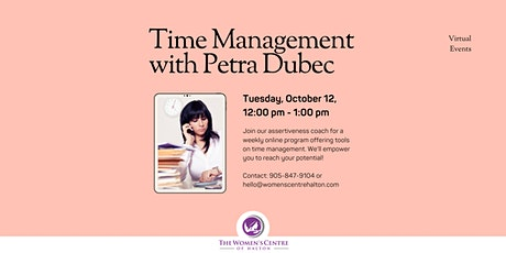 Time Management Series tickets