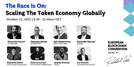 The Race is On: Scaling the Token Economy Globally tickets
