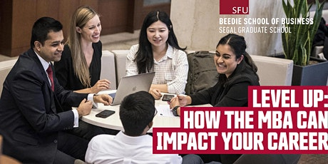 Level Up: How the MBA Can Impact Your Career tickets