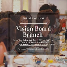 2022 Vision Board Brunch tickets