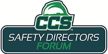 CCS October Safety Directors Forum tickets