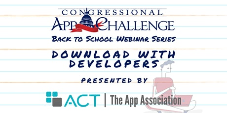 Congressional App Challenge Webinar: Download with Developers tickets