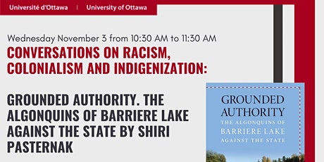 Grounded Authority: The Algonquins of Barriere Lake against the State tickets