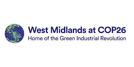 COP26 - Regional Roadshow West Midlands tickets