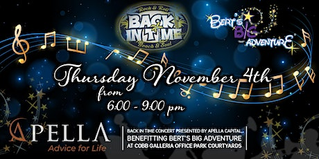 Back In Time Concert  Presented by Apella Capital tickets