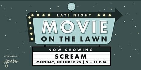 *LATE NIGHT* Movie on the Lawn - Scream tickets