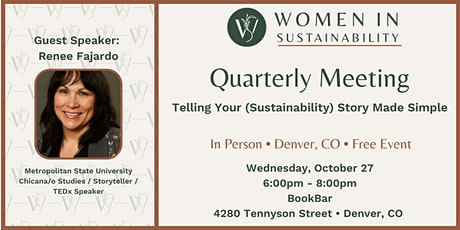 Women in Sustainability Quarterly Meeting (Denver, CO) tickets