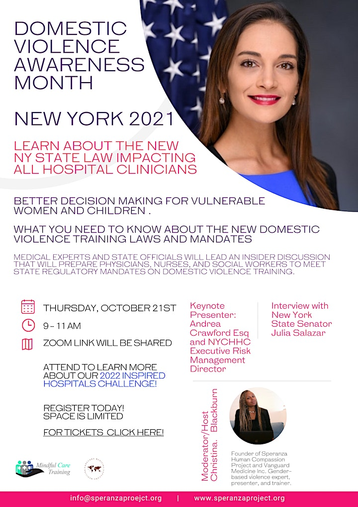 FREE 2021 DV/IPV Awareness Month - Professional Development for Clinicians image