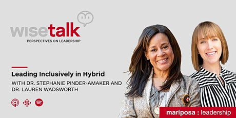 WiseTalk: Leading Inclusively in Hybrid tickets