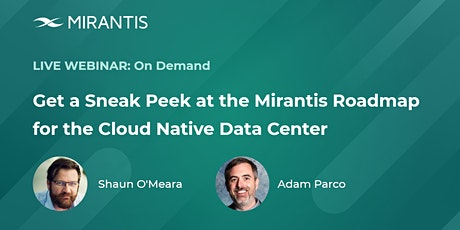 Cloud Native Data Center, OpsCare  and Multi-Cloud deployment tickets