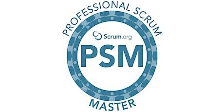 Professional Scrum Master (PSM) tickets