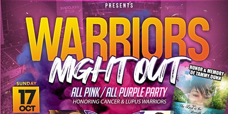 Warriors Night Out tickets