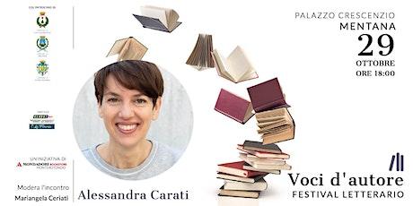 Alessandra Carati | E poi saremo salvi biglietti