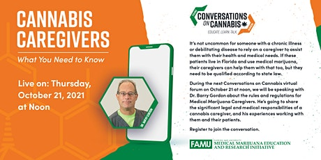 Cannabis Caregivers: What You Need to Know tickets