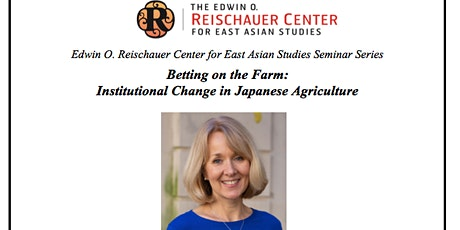 Betting on the Farm:  Institutional Change in Japanese Agriculture tickets