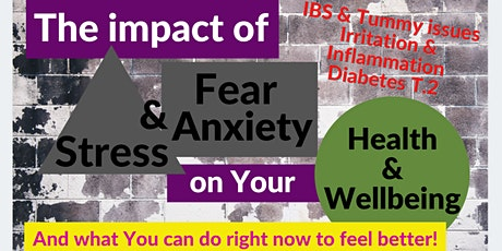 Women's Special! Managing Anxiety & IBS Holistically!  Don't Miss This! tickets