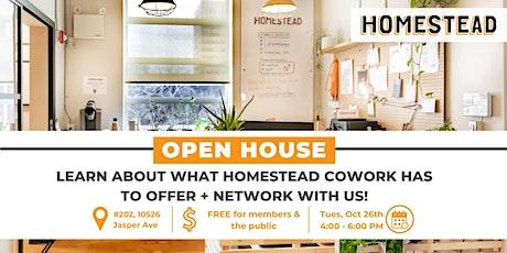 Homestead Open House tickets