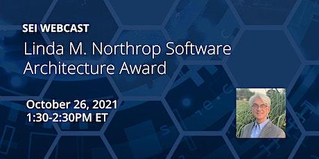 Linda M. Northrop Software Architecture Award tickets