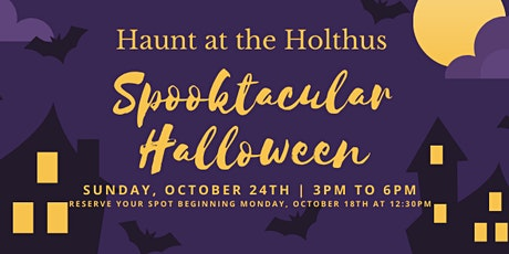 Haunt at the Holthus tickets