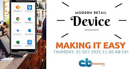 Modern Retail Device Experiences tickets