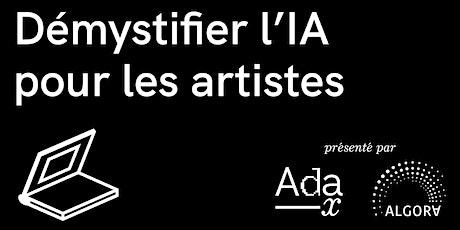 Démystifier l'IA pour les artistes billets